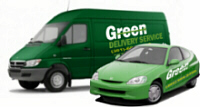 Green Courier Delivery Vehicles